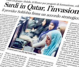 Sardi in Qatar, l'invasione Soft
